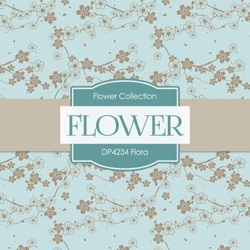 Digital Papers - Flora (DP4234)