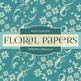 Digital Papers - Floral Bouquet (DP522)