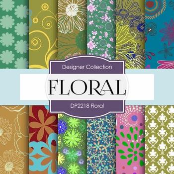 Digital Papers - Floral (DP2218)