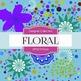 Digital Papers - Floral (DP2219)