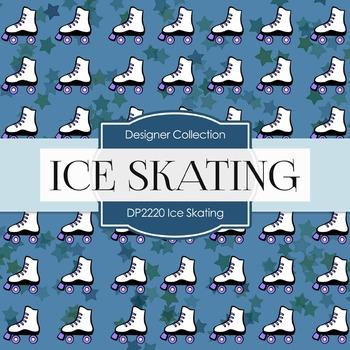 Digital Papers - Ice Skating (DP2220)