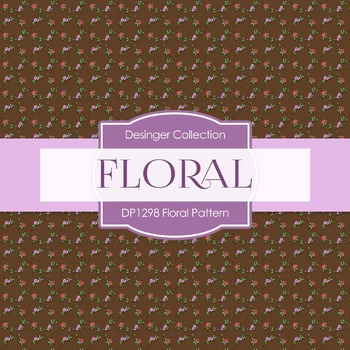 Digital Papers - Floral Pattern (DP1298)