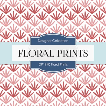 Digital Papers - Floral Prints (DP1940)