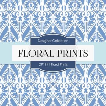 Digital Papers - Floral Prints (DP1941)