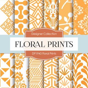 Digital Papers - Floral Prints (DP1943)