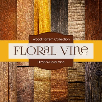 Digital Papers Floral Vine Dp6374 By Digitalpaperdesigns Tpt