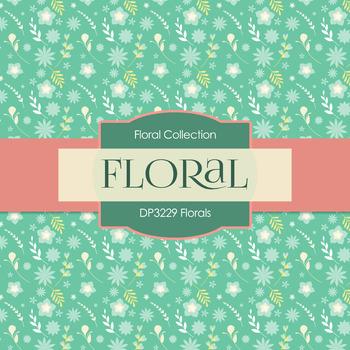 Digital Papers - Florals (DP3229)
