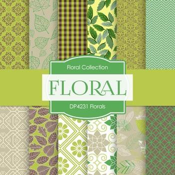 Digital Papers - Florals (DP4231)
