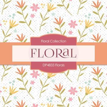 Digital Papers - Florals (DP4833)
