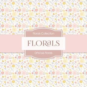 Digital Papers - Florals (DP6166)