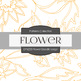 Digital Papers - Flower Doodle Large (DP6223)