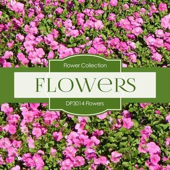 Digital Papers - Flowers (DP3014)
