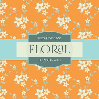 Digital Papers - Flowers (DP3233)
