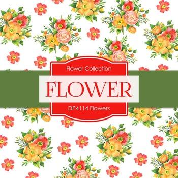 Digital Papers - Flowers (DP4114)
