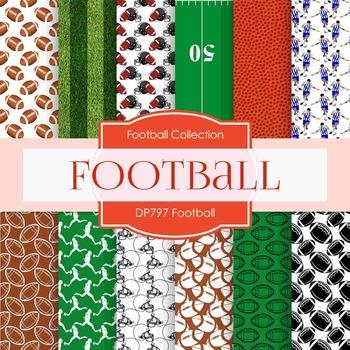 Digital Papers - Football  (DP797)