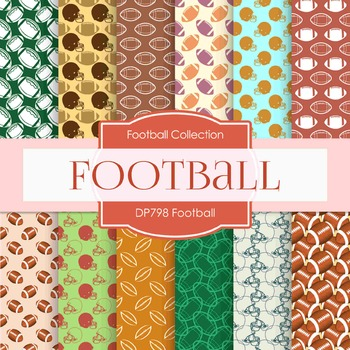 Digital Papers - Football  (DP798)