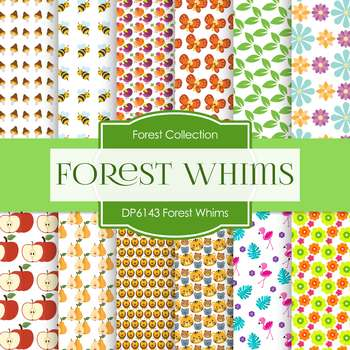 Digital Papers - Forest Whims (DP6143)