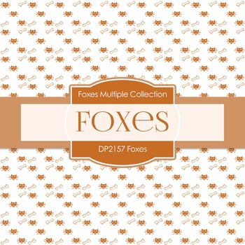 Digital Papers - Foxes (DP2157)