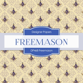 Digital Papers - Freemason (DP468)
