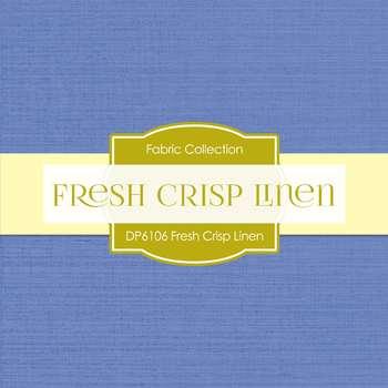 Digital Papers - Fresh Crisp Linen (DP6106)