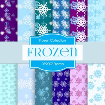 Digital Papers - Frozen (DP2007)