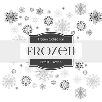 Digital Papers -  Frozen (DP2011)