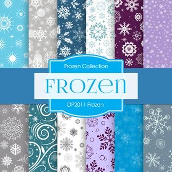 Digital Papers -  Frozen (DP2011)