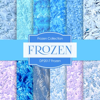 Digital Papers -  Frozen (DP2017)