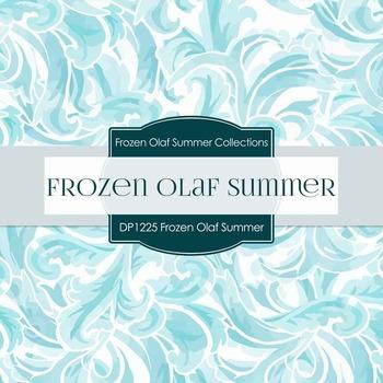 Digital Papers - Frozen Olaf Summer (DP1225)