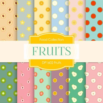 Digital Papers - Fruits (DP1602)