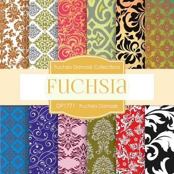 Digital Papers - Fuchsia (DP1771)