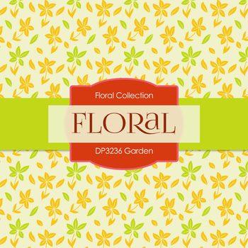 Digital Papers - Garden (DP3236)