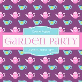 Digital Papers -  Garden Party (DP2267)