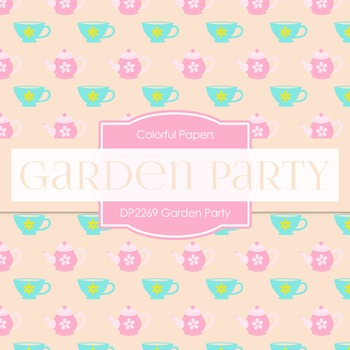 Digital Papers -  Garden Party (DP2269)