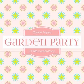 Digital Papers -  Garden Party (DP286)