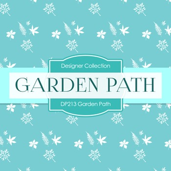 Digital Papers -  Garden Path (DP213)
