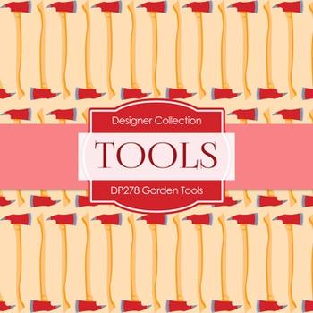 Digital Papers -  Garden Tools (DP278)