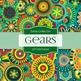 Digital Papers - Gears (DP1510)