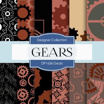 Digital Papers - Gears (DP1636)