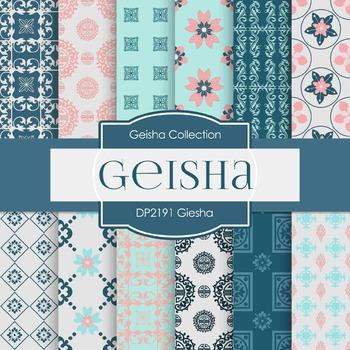 Digital Papers - Geisha (DP2191)