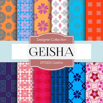 Digital Papers - Geisha (DP2205)