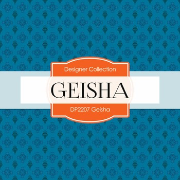 Digital Papers - Geisha (DP2207)