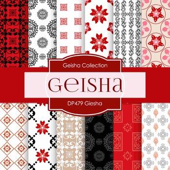 Digital Papers - Geisha (DP479)