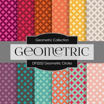 Digital Papers - Geometric Circles (DP3252)