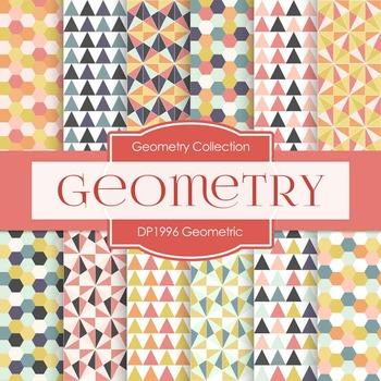 Digital Papers -  Geometric (DP1996)