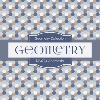 Digital Papers -  Geometric (DP3724)