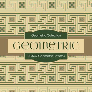Digital Papers - Geometric Patterns (DP3257)