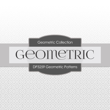 Digital Papers - Geometric Patterns (DP3259)