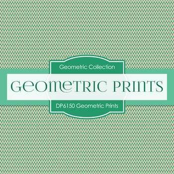 Digital Papers - Geometric Prints (DP6150)