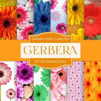 Digital Papers - Gerbera Daisy (DP166)